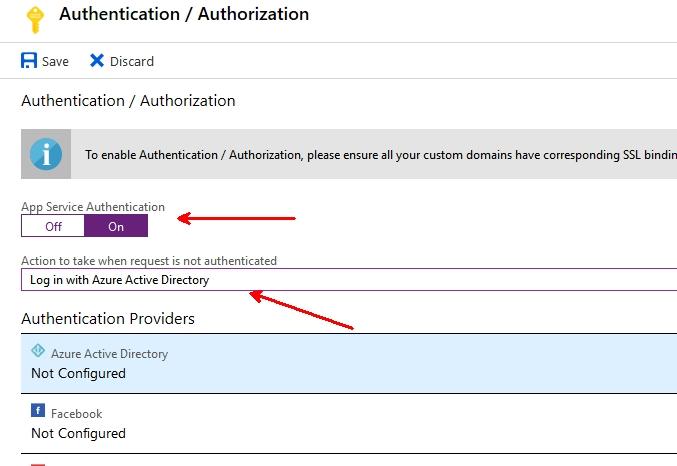 Azure AD authentication in Azure Functions | adatum